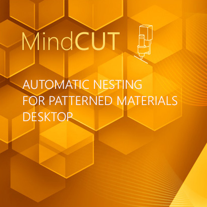 Automatic Nesting for Patterned Materials Desktop